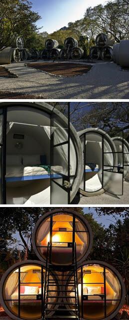 5 Hotel dengan Bahan Material Teraneh di Dunia