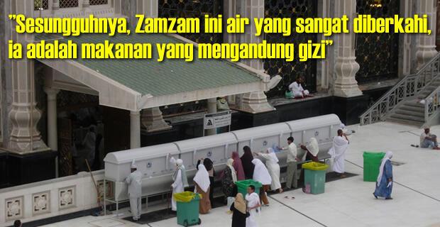 Keajaiban Dan Keanehan Air Zam-Zam