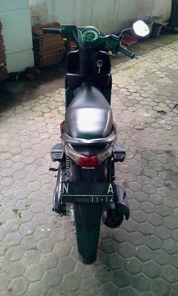 dijual Honda BEAT 2009 PLAT N KOTA MALANG-JATIM
