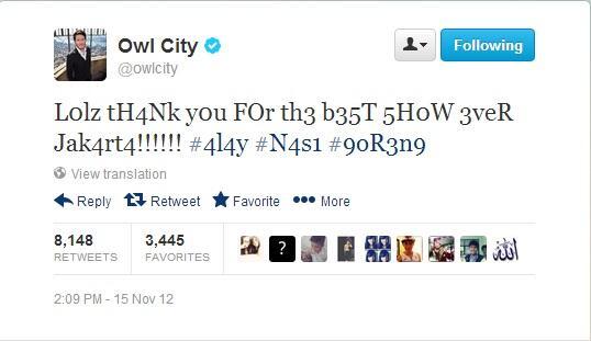Adam Young (Owl City), Penyanyi Amerika yang Sangat Mengenal Indonesia.