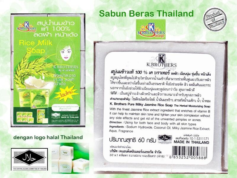 Terjual Sabun Beras Thailand Asli Murah 9 900 Per Batang Kaskus