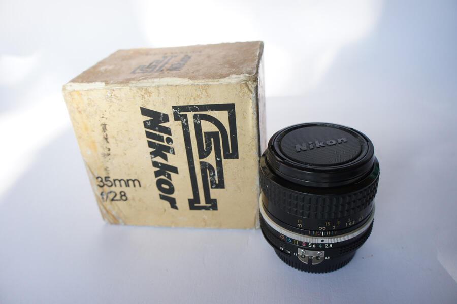 [WTS] [BU] Manual Lens Nikkor 35mm f2.8 Ai