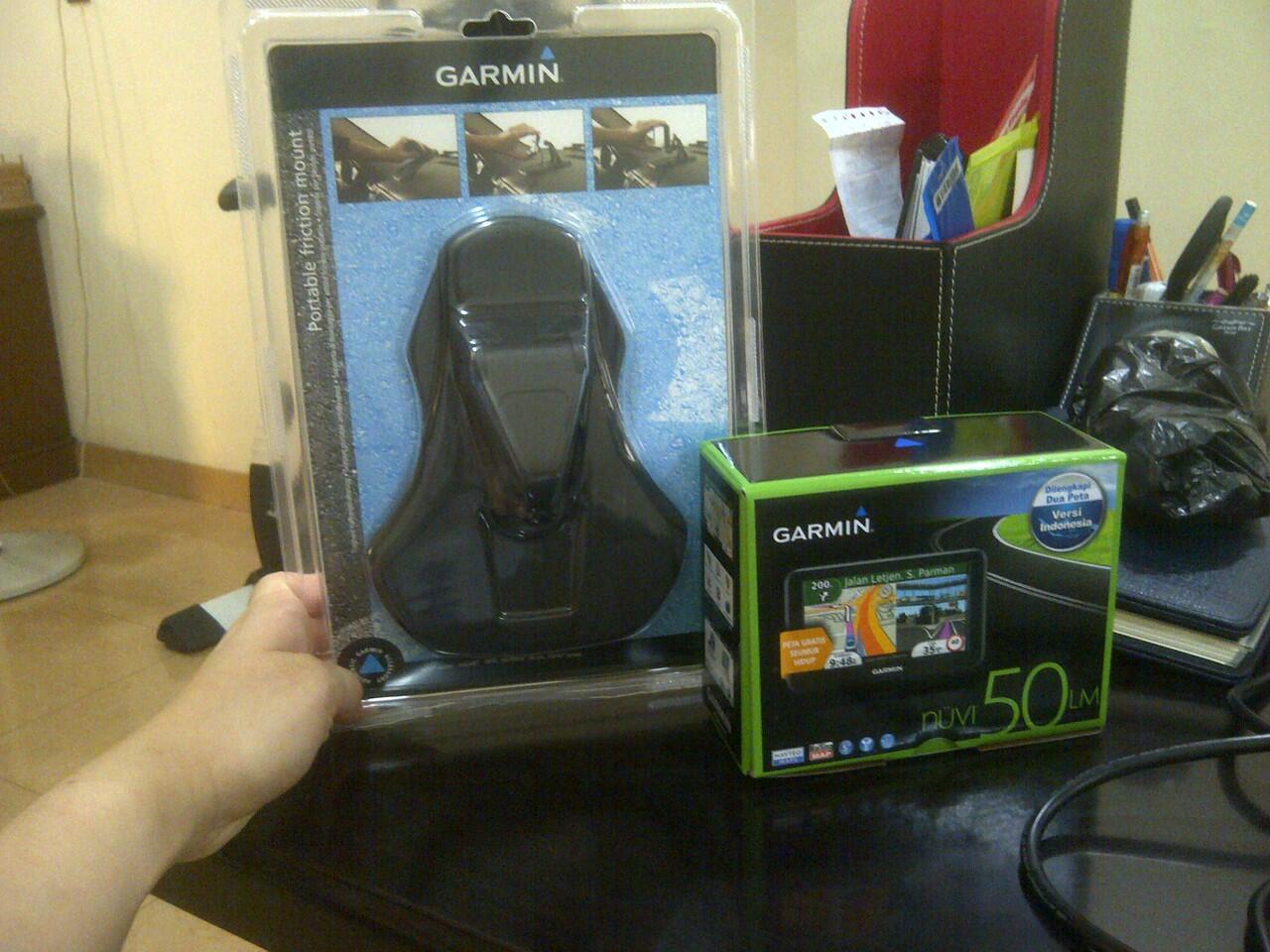 Dijual GPS Garmin Nuvi 50LM baru dan murah
