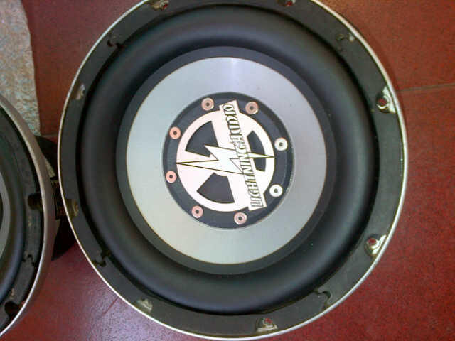 2nd Subwoofer Lightning Audio S3.10.VC2 Strike VC.2.10""