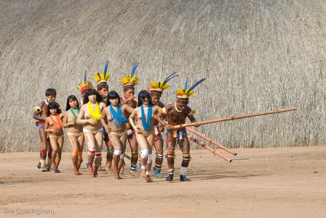 Suku Pedalaman Amazon Kalau ada disikitar kita gimana
