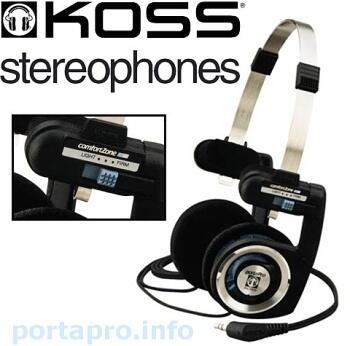 [MVPcomp] READY STOCK Headphone Portable (Bisa Dilipat) Koss Portapro BNIB
