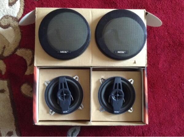 MIK MS-5422 2 Way Speaker System Full Chrome @Jogja/Yogya