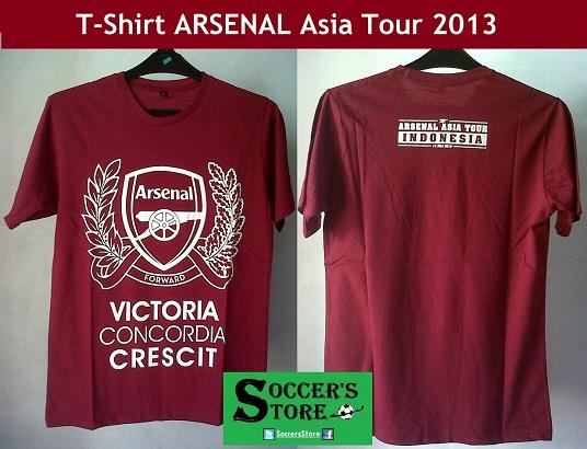 [PO] T-Shirt / Kaos Arsenal Tour 2013