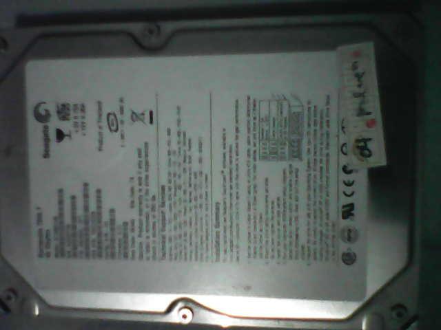 HDD SEAGETE 40 GB IDE