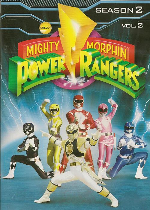 DVD power rangers mighty morphin