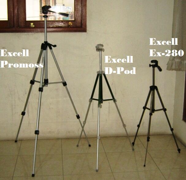 Terjual Tripod Kamera Excell Promos Harga Grosir Dan