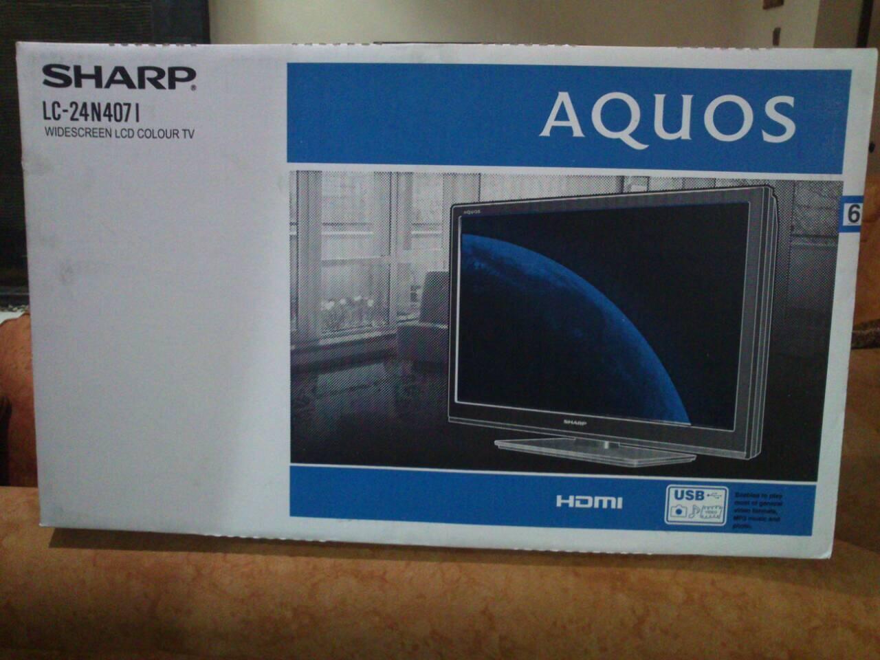 "LCD 24"" SHARP LC-24N407I"