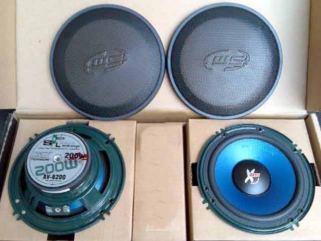 Jual Speaker Audio Boschmann AV-6200 Mid Woofer 200 rbu aja