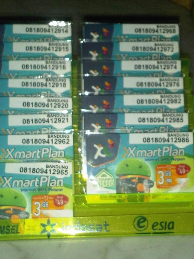 Perdana XL Android XmartPlan 3GB 2bulan (bandung)