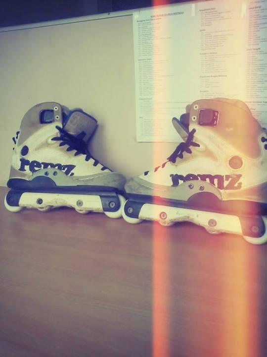 inline skate aggressive REMZ HR 1.2 murah meriah (BU) (Rollerblades sepatu  roda bfd73bb98d