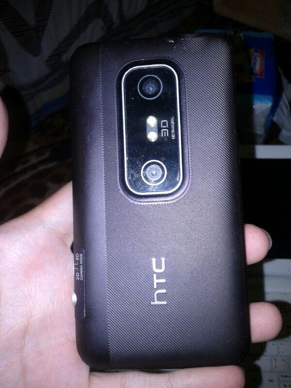 jual HTC EVO 3D, kesayangan, bisa tuker sama hp android bb dan iphone