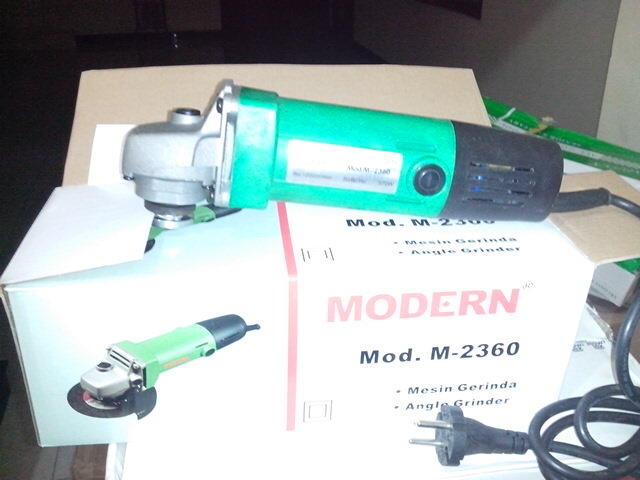 Jual Murah Alat / Perkakas Teknik dan Sparepartnya. Mesin Grinder Modern M-2360. Harga Rp. 210.000