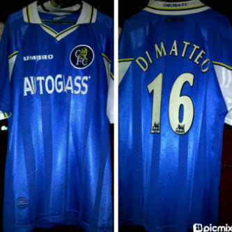 Jual jersey Retro Chelsea home 97/99 [ Ready Stok ]