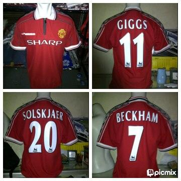 Jual Jersey Retro Manchester United 98-99