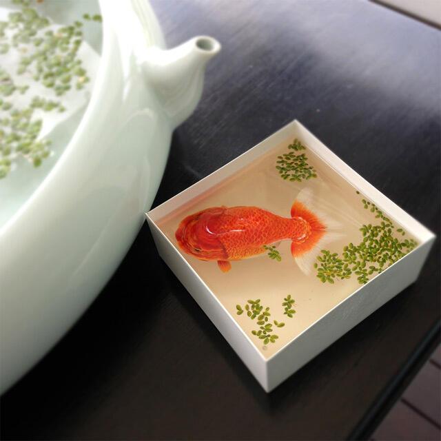 Gambar 3D Yang Di cat Di Lapisan Resin