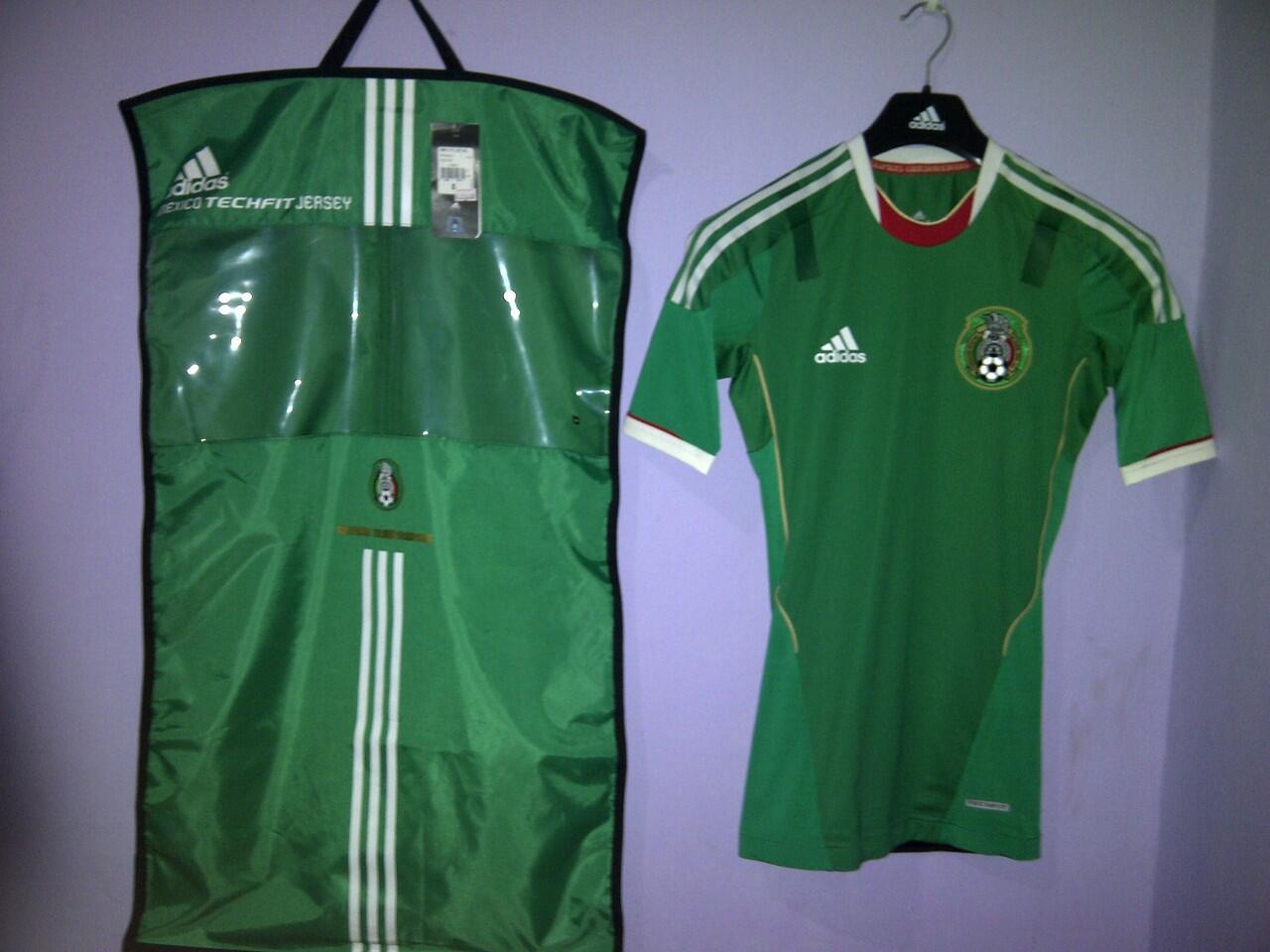 LELANG Jersey AC Milan - Mexico - Chelsea <> TECHFIT ORI BNWT