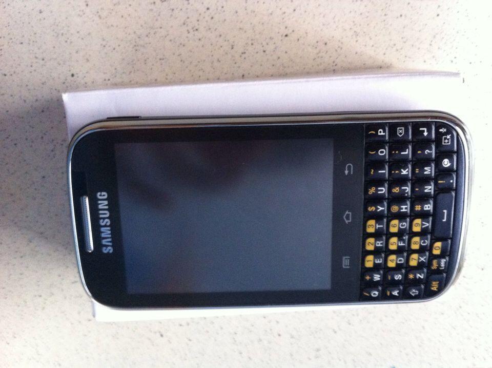 ... JUAL Samsung Galaxy Chat GT-B5330 HITAM (JAKARTA) ...