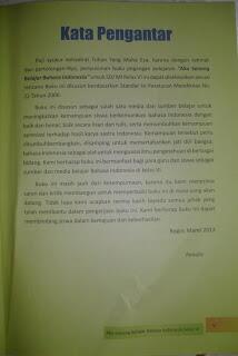[MIRIS] Ini isi Buku Paket Bahasa Indonesia Kelas 6 tahun 2013 / 2014