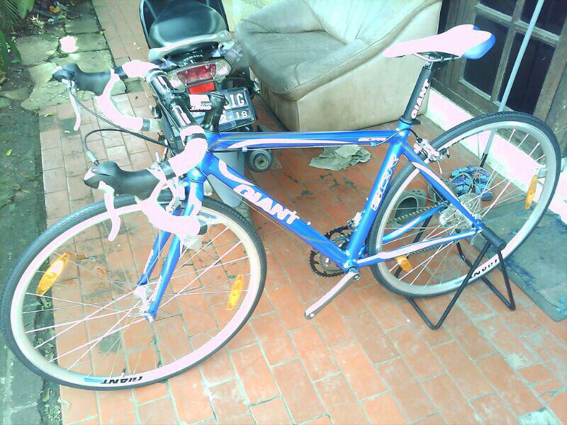 Terjual WTS sepeda balap Roadbike GIANT SCR 2 NEW HARGA