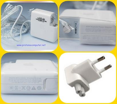 Pusat Charger/Adaptor Apple Macbook,Magsafe#2 45Watt/60W/85W Original dan OEM