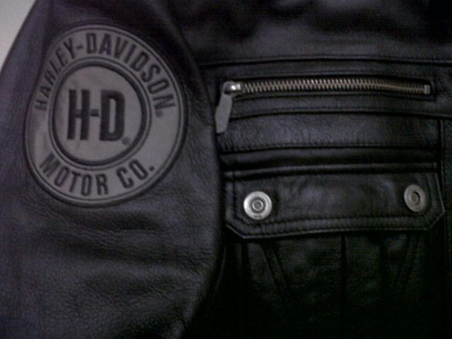 Terjual Jaket Kulit Leather Jacket Harley Davidson Asli