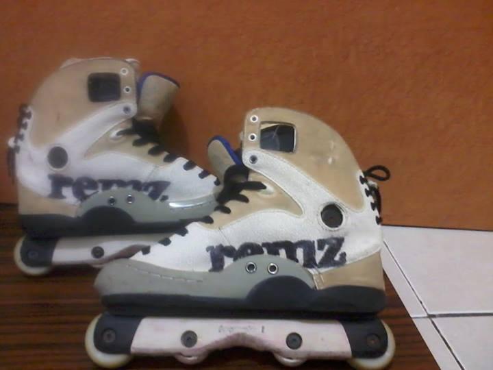 ... inline skate aggressive REMZ HR 1.2 murah meriah (BU) (Rollerblades sepatu  roda 862be9d388