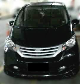 Honda Freed PSD AT tahun 2009 Black Pearl - istimewa banget!!!!!