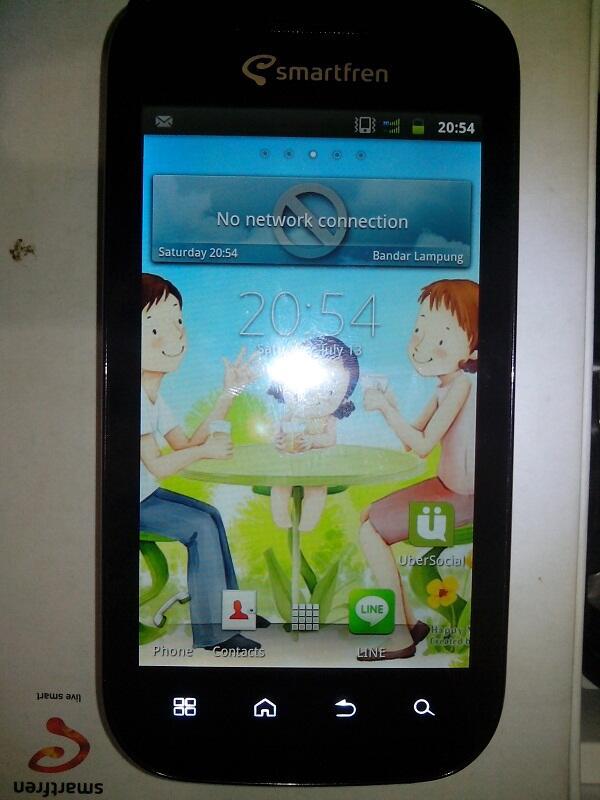 smartfren andro 4Inch single sim