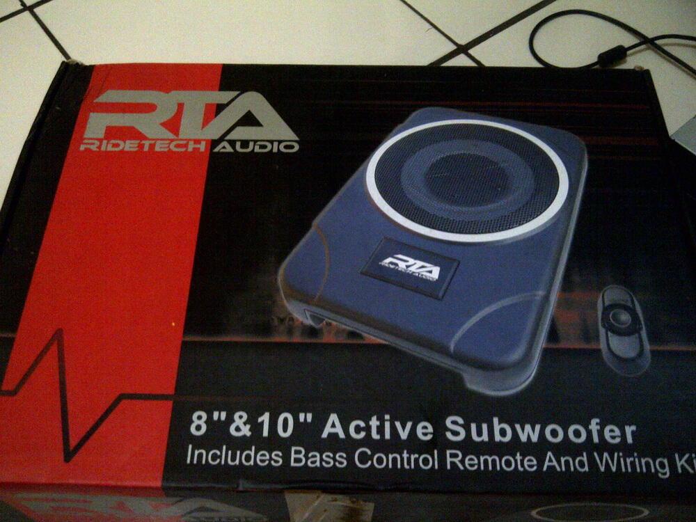 Paket audio sangat murah,Doubledine Original Daihatsu dan Active Subwoofer