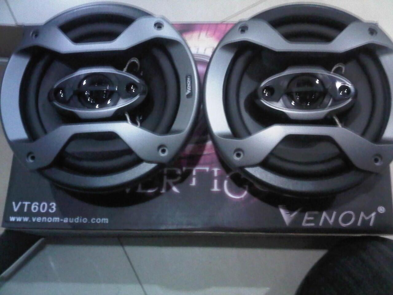 speaker coaxial venom vertigo
