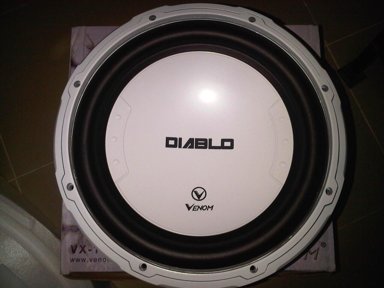 paket Audio Venom Diablo Free capasitor diablo 3,5F