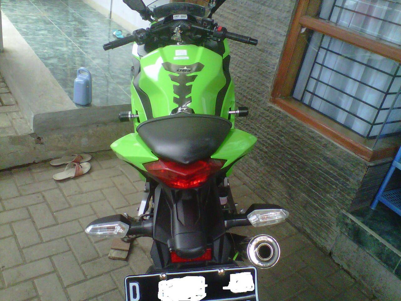 Jual Kawasaki Ninja 250Fi (Bandung)