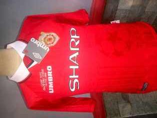Ready Stock Jersey Manchester United Final Camp Nou 1999 [ Detail Like Ori ]