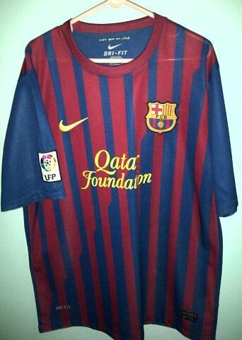 Jersey Bola Barcelona Home dan Intermilan Home