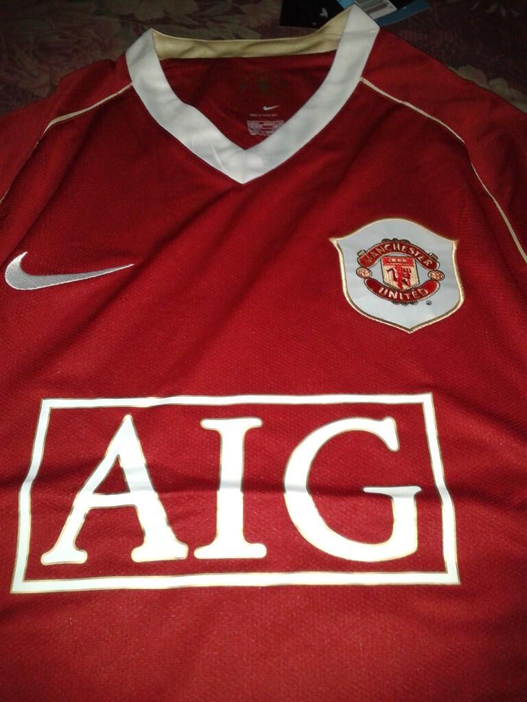 BNWT Jersey Grade Ori MU / Manchester United home retro 2006-2007