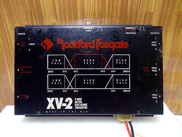 CROSOVER ACTIVE ROCKFORD XV-2 BARANG LANGKA (malang)