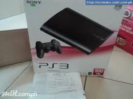 JUAL CEPAT BUTUH DUIT SONY PS3 SUPER SLIM BLACK EX DISPLAY BARANG MASIH BAGUS-ORI
