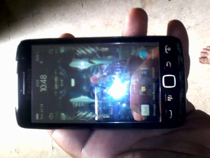 WTS Blackberry 9850 aka BB Monaco Fullset Plus Extended Batre 3000Ma...Solo