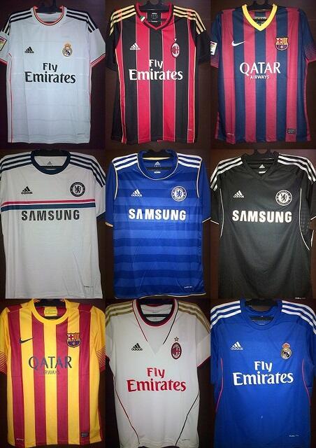 [SALE] Ready Stock - Jersey Klub Sepakbola Grade ORI - FreeOngkir