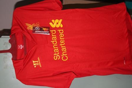 Nonton Indonesia vs Liverpool BNIB: jersey liverpool LUCAS #21 cuma 130ribu GANNNNNN
