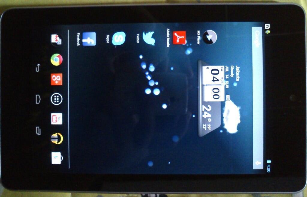 Google nexus 7 32gb Wifi only Garansi Resmi (beli di Pazia)