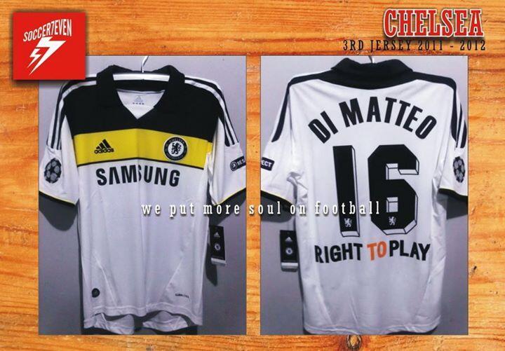 WTS Jersey Chelsea 11/12 3rd UCL #16 DiMatteo Solo Jogja