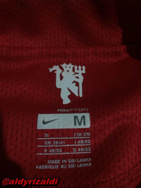 WTS Manchester United Home 2008 Nameset Nani, Patch BPL size M