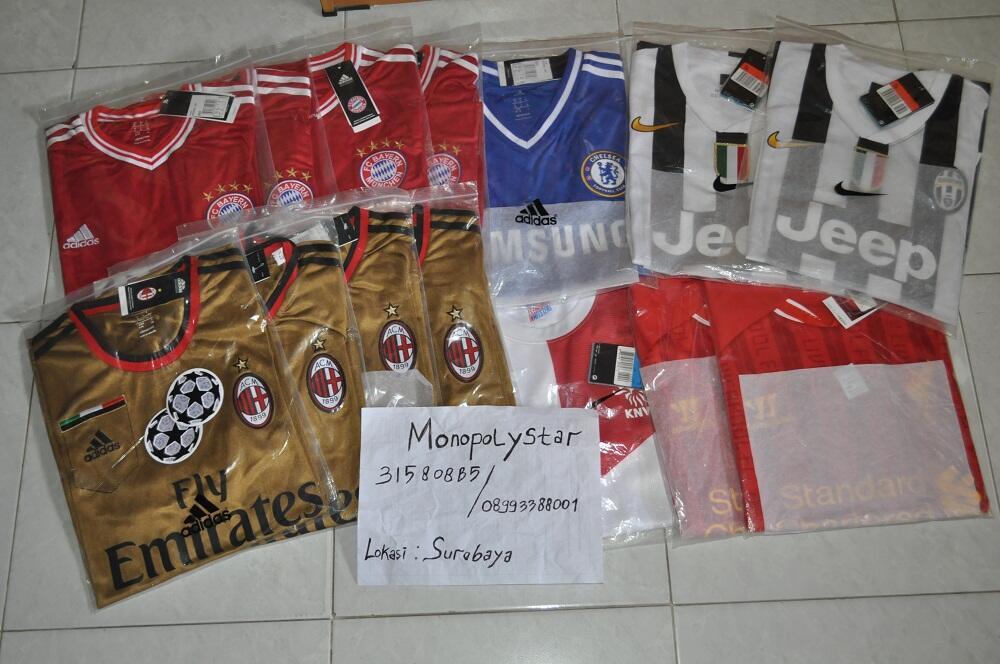 """ MONOPOLYSTAR JERSEY V "" Obral Jersey 13-14 Surabaya"