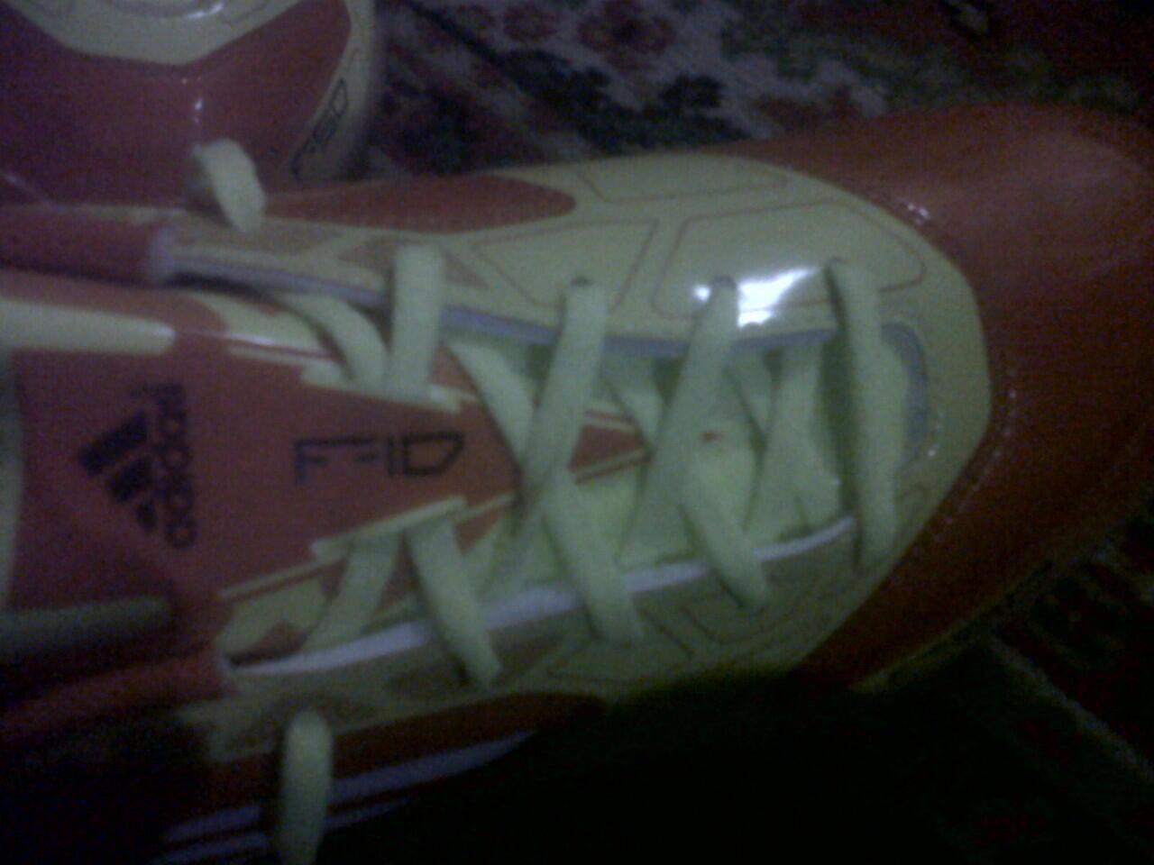 sepatu futsal adidas f10 uk 42 ori